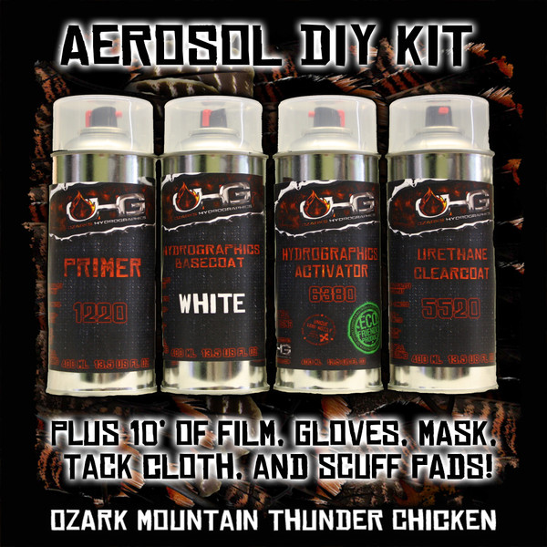 Aerosol DIY Dip Kit -  Ozark Mountain Thunder Chicken
