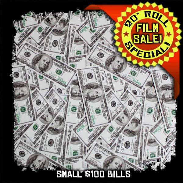 Small $100 Bills - 20 Foot Roll Special!