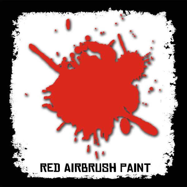 Air Brush Paint - 2oz - Red