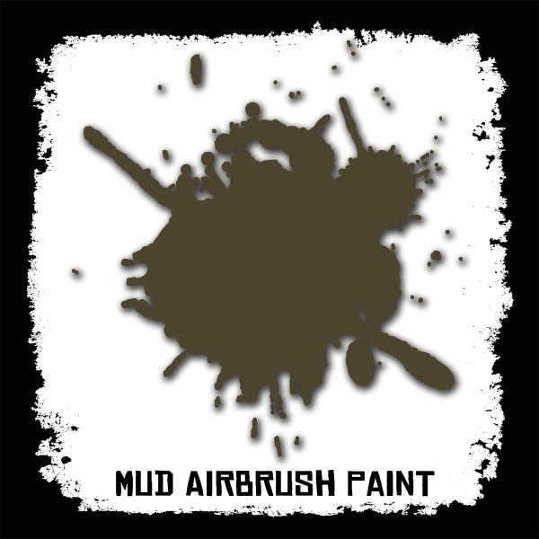 Air Brush Paint - 2oz - Mud