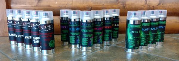 Aerosol Ultimate Kit - 10 Colors + 4 Hydrographics Activators!