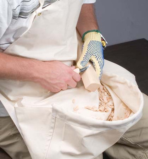 Canvas Carving Apron
