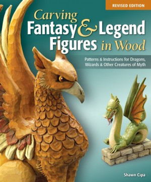 CARVING FANTASY AND LEGEND FIGURES IN WOOD