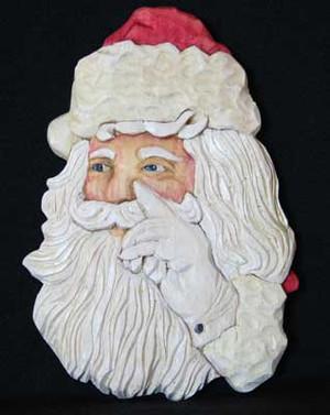 Santa Clause USA Ornament Kit