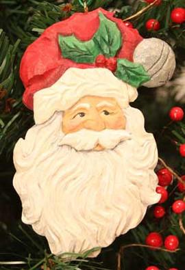 Memorable Claus Ornament Carving Kit
