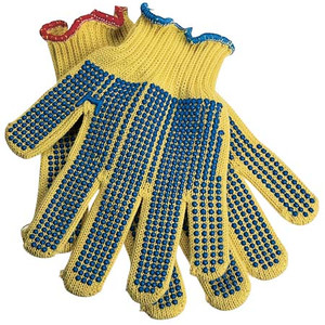 MEDIUM ECONOMY KEVLAR GLOVE WITH GRIP