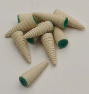 SMALL SANDING CONES -MEDIUM GRIT PKG 10