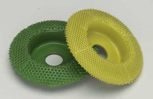 "2"" Saburr Tooth Wheel-Coarse-Flat Profile"