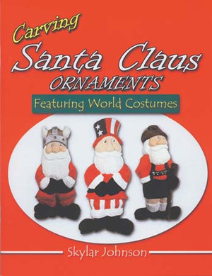 Carving Santa Claus Ornaments