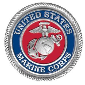 US Marine Pewter Medallion