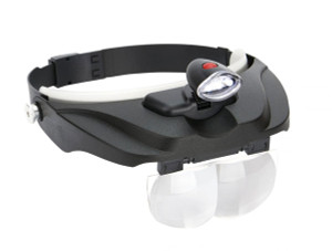 Magnifier Visor with 4 Lenses