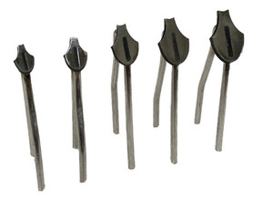 Keeled Scale Tip Set (2, 2.5, 3, 3.5, and 4mm)