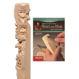 Noses and Hair Study Stick Kit