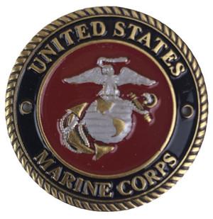 Marine Brass Medallion