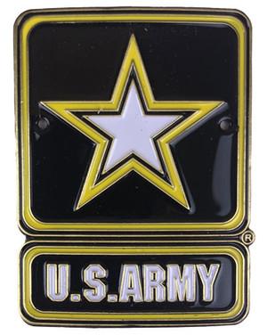 Army Brass Medallion