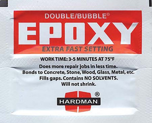 DOUBLE BUBBLE EPOXY PACK