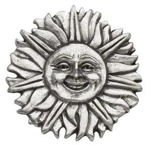 Sunface Pewter Medallion