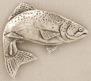 TROUT PEWTER MEDALLION