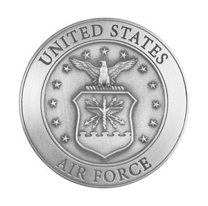 AIR FORCE PEWTER MEDALLION