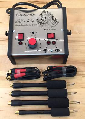 Razertip Dual Burner Basic Woodburning Kit