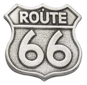 Route 66 Pewter Medallion