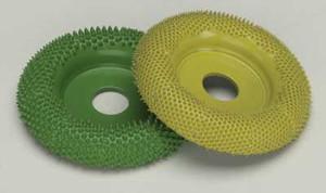 "2"" Saburr Tooth Wheel-Fine-Round Profile"