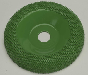 "4"" Saburr Tooth Wheel Coarse Round Profile"