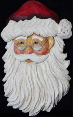Julenissen Santa Clause Ornament Kit