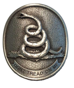 Don't Tread on Me Pewter Medallion