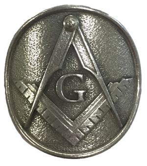 Masonic Pewter Medallion