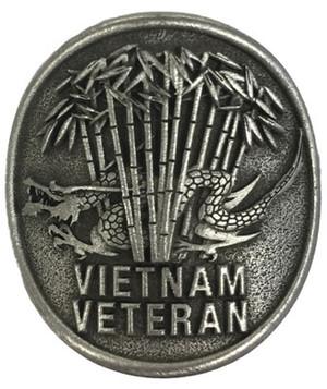 Vietnam Veteran Pewter Medallion