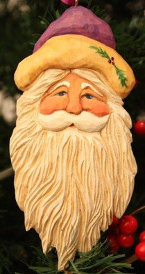 Keepsake Santa Ornament Kit