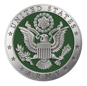 US Army Pewter Medallion