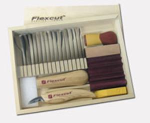 Flexcut Deluxe Starter Woodcarving Kit