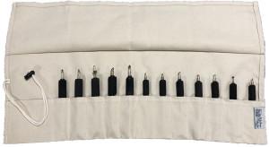 12 Pocket Woodburning Pen Roll