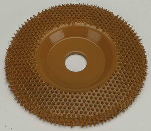 "4"" Saburr Tooth Wheel X-Coarse Flat Profile"
