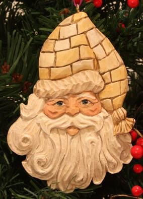 Nostalgic Nick Ornament Carving Kit