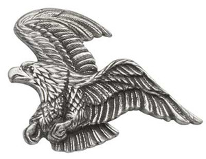 Retro Eagle Pewter Medallions