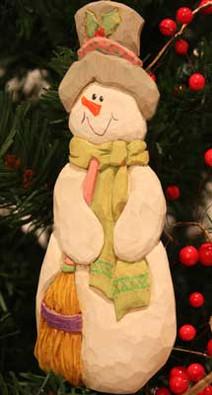 Tall Frosty Jr. Ornament Kit