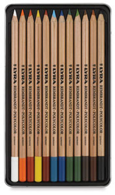 Oil Colored Pencil 12pk