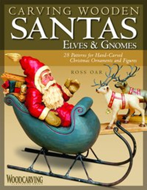 CARVING WOODEN SANTAS, ELVES, & GNOMES