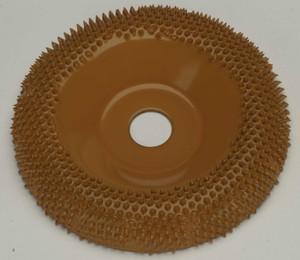 "4"" Saburr Tooth Wheel X-Coarse Round Profile"
