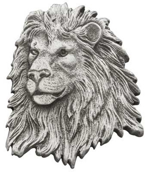 Lion Pewter Medallion