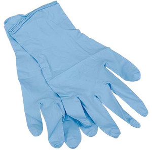 X-LARGE NITRILE GLOVES