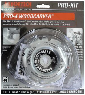 PRO 4 WOODCARVER BLADE W/GUARD