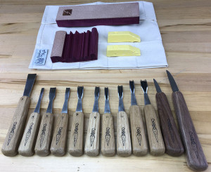 Deluxe Handcarving Set