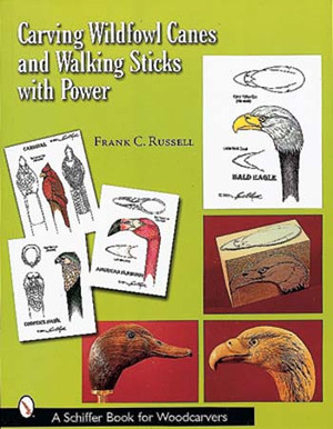 CARVING WILDFOWL CANES AND WALKING STICKS