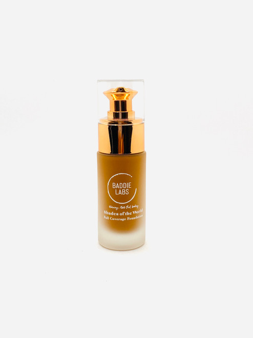 Baddie Labs Shades of the World Full Coverage Hydrating Foundation Unite 8