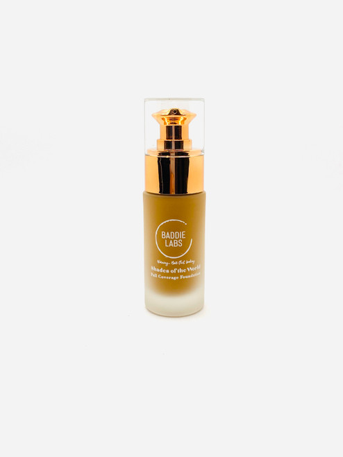 Baddie labs Shades of the World Full Coverage Hydrating Foundation Unite 10