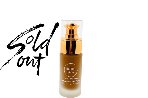 Baddie Labs Shades of the World Full Coverage Hydrating Foundation Unite 15